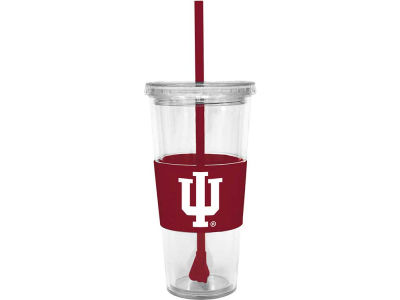 Indiana Hoosiers 22oz. Tumbler with Straw