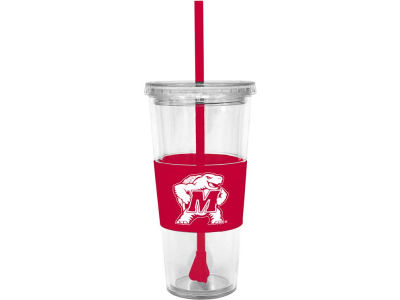 Maryland Terrapins 22oz. Tumbler with Straw