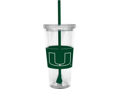 Miami Hurricanes 22oz. Tumbler with Straw