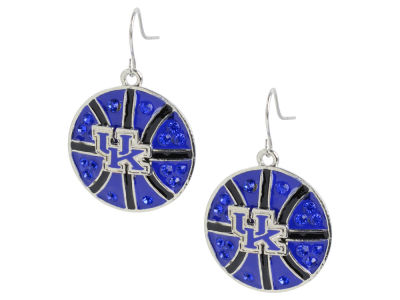Kentucky Wildcats Basketball Hoop Earring