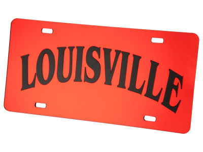 Louisville Cardinals Arch License Plate
