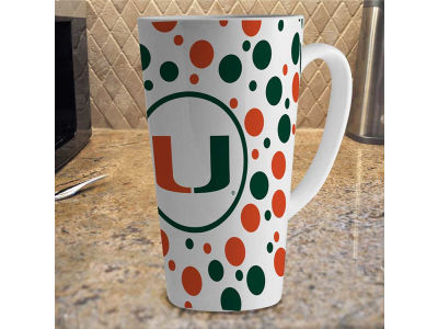 Miami Hurricanes 16oz Latte Mug