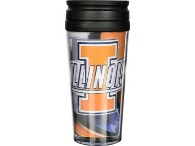 Illinois Fighting Illini 16oz Travel Tumbler