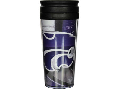 Kansas State Wildcats 16oz Travel Tumbler