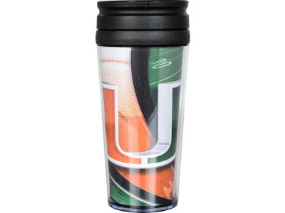 Miami Hurricanes 16oz Travel Tumbler