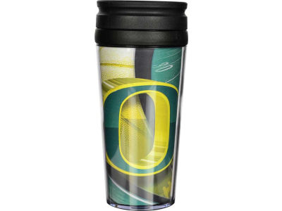 Oregon Ducks 16oz Travel Tumbler