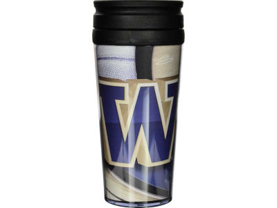 Washington Huskies 16oz Travel Tumbler