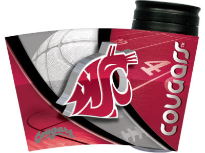 Washington State Cougars 16oz Travel Tumbler