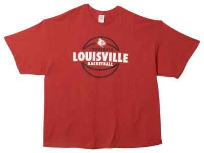 Louisville Cardinals NCAA Lunar Basketball T-Shirt