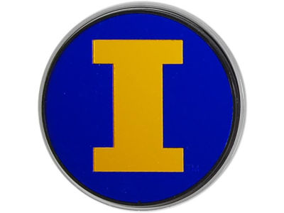 Illinois Fighting Illini Laser Hitch Cover