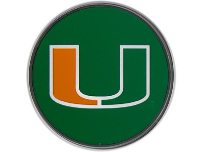 Miami Hurricanes Laser Hitch Cover