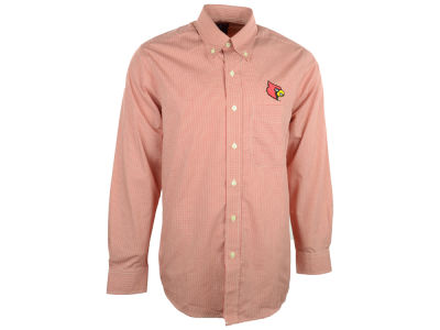 Louisville Cardinals NCAA Focus Long Sleeve Woven Shirt