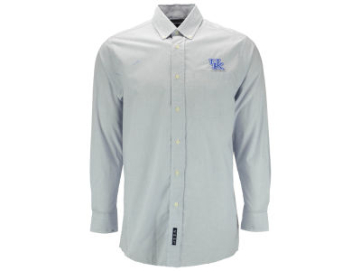 Kentucky Wildcats NCAA Men's Microcheck Woven Button Up Shirt