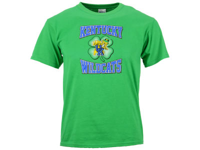 Kentucky Wildcats UK Youth Wildcats Shamrock Short Sleeve T-Shirt