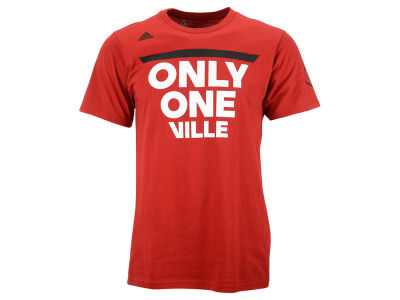Louisville Cardinals adidas NCAA Men's There's Only One T-Shirt