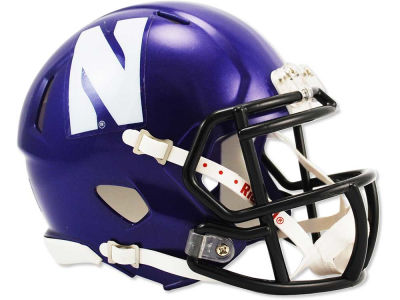 Northwestern Wildcats Speed Mini Helmet