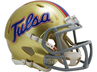 Tulsa Golden Hurricane Speed Mini Helmet