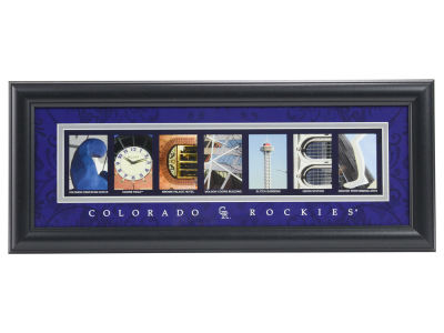 Colorado Rockies NFL Letter Art