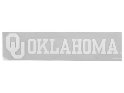 Oklahoma Sooners Die Cut Strip Decal