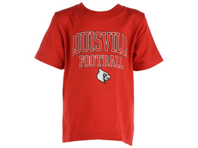 Louisville Cardinals NCAA 2 for $25  NCAA Kids Football Arch Outline T-Shirt