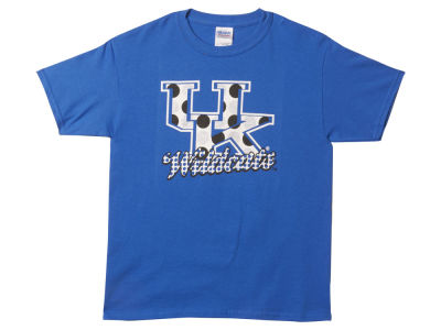 Kentucky Wildcats NCAA Kids Pepper Dot Glitter T-Shirt