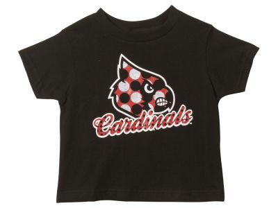 Louisville Cardinals NCAA Kids Pepper Dot Glitter T-Shirt