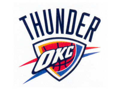 Oklahoma City Thunder Tattoo 4-pack