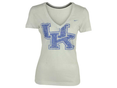 Kentucky Wildcats Nike NCAA Women's Deep V Tri Blend T-Shirt