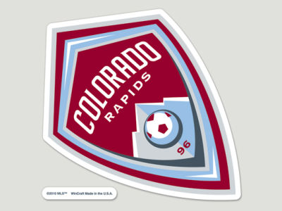 Colorado Rapids Die Cut Color Decal 8in X 8in