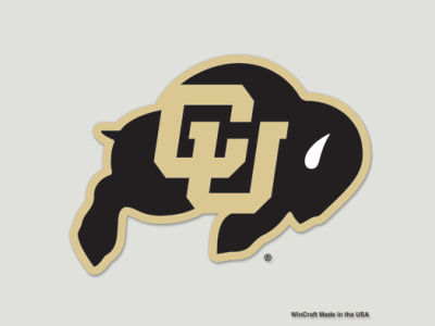 Colorado Buffaloes Die Cut Color Decal 8in X 8in