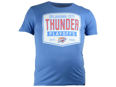 Oklahoma City Thunder NBA Men's Nicolette Cornbread Playoff T-Shirt