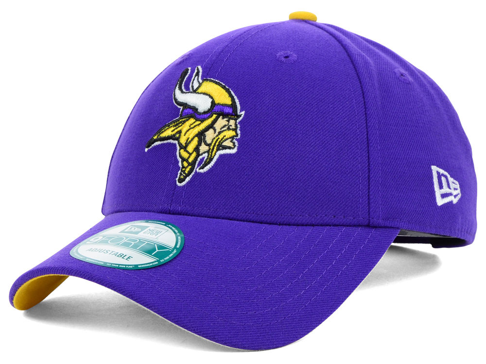 44827e58068 Minnesota Vikings New Era NFL League 9FORTY Cap