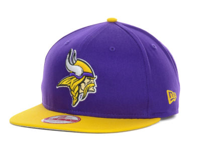 Minnesota Vikings New Era NFL Baycik 9FIFTY Snapback Cap
