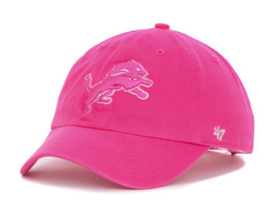 Detroit Lions '47 NFL Womens Berry Clean Up Cap