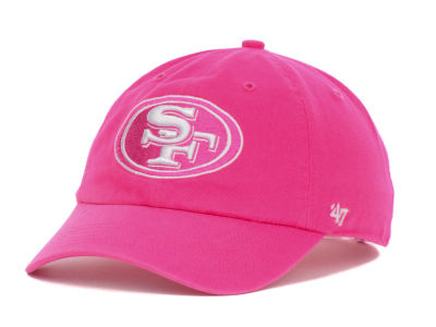 San Francisco 49ers '47 NFL Womens Berry Clean Up Cap