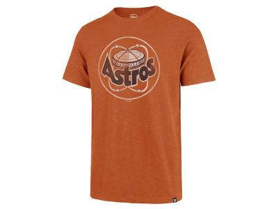 Houston Astros '47 MLB Men's Scrum Coop Logo T-Shirt