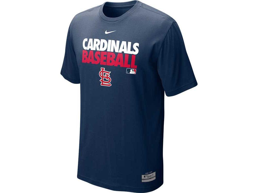 St. Louis Cardinals Nike MLB Men s AC Dri-Fit Cotton Graphic T-Shirt ... fec4efe93
