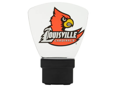 Louisville Cardinals Art Glass Night Light