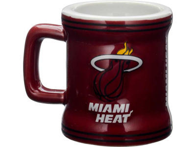 Miami Heat 2oz Mini Mug Shot