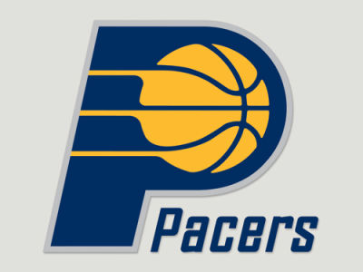 Indiana Pacers Die Cut Color Decal 8in X 8in