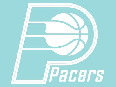 "Indiana Pacers Die Cut Decal 8""x8"""