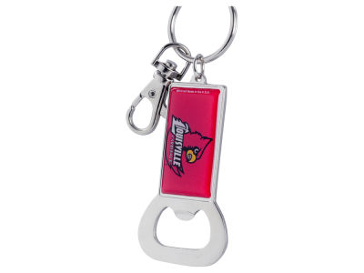 Louisville Cardinals Aminco Bottle Opener Keychain