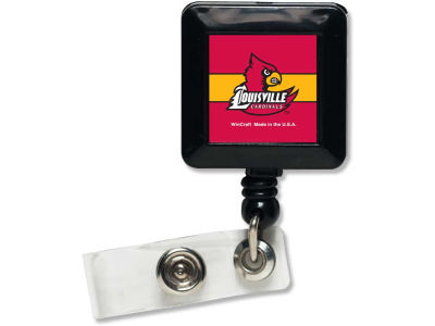 Louisville Cardinals Retractable Badge Holder