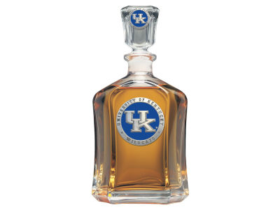Kentucky Wildcats Glass Decanter