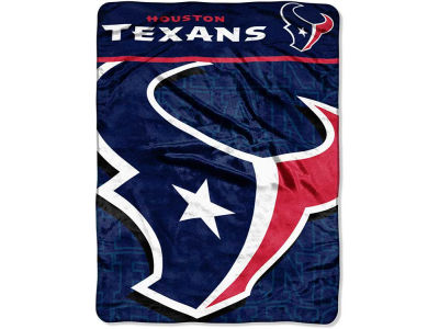 "Houston Texans Micro Raschel Throw 46x60 ""Living Large"""