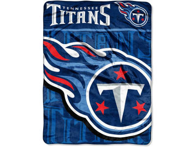 "Tennessee Titans Micro Raschel Throw 46x60 ""Living Large"""