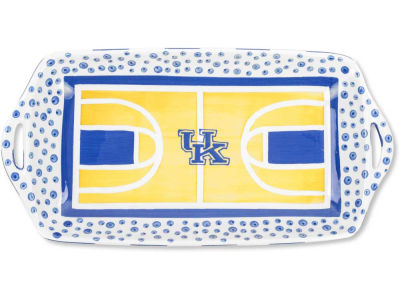 Kentucky Wildcats Ceramic Basketball Court Tray