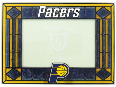 Indiana Pacers Art Glass Picture Frame