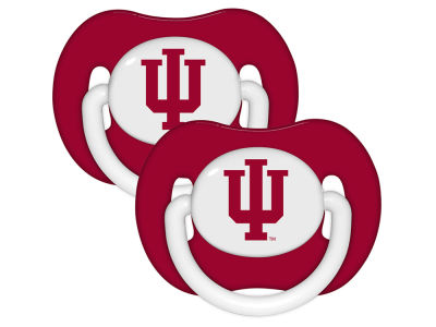 Indiana Hoosiers 2-pack Pacifier Set