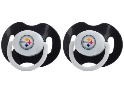 Pittsburgh Steelers 2-pack Pacifier Set